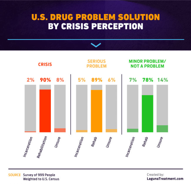 crisis perception of U.S. drug problem