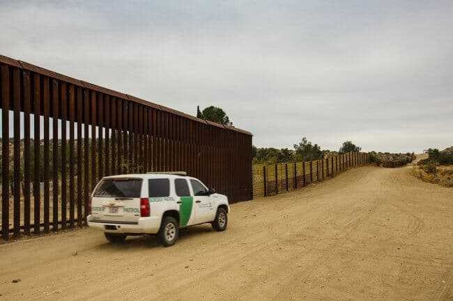 building a wall at the california - mexico border stop drugs from coming in