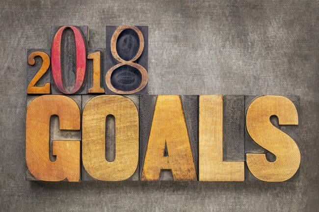 2018 financial goals for a success in recovery