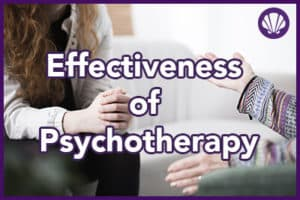 effectiveness of psychotherapy in addiciton treatment