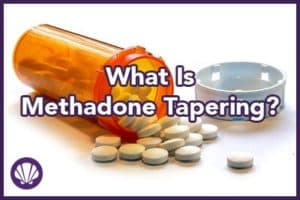 what is methadone tapering for opiod pill addiction