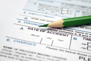 Accident injury form