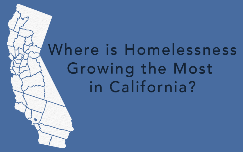 Where the Homelessness Population is Increasing in California